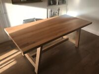 The White Company Solid Oak Dining Table Seats 6-8