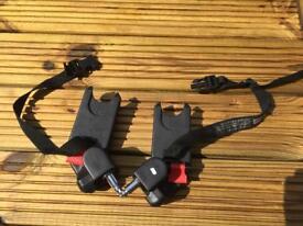 City mini jogger car seat adaptors