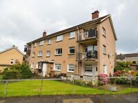 First floor flat in good decorative order situated in popular area of Clermiston.