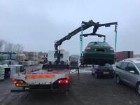Specialist Hi Hab Car Recovery