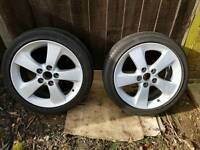 Toyota Prius wheels and tyres 17 ""