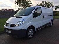 RENAULT TRAFIC 2.0 DCI 115 BHP LWB *SAT NAV*AIR CON*ELECTRICS*ONE OWNER*
