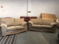 DFS Two pieces sofa set 3 & 2 seater