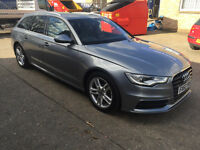 Audi A6 Avant S-Line 20Lt Diesel Auto Full Service History 4 Point Climate Control Privacy Glass