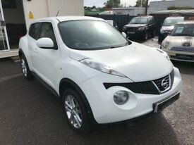 2012/12 NISSAN JUKE 1.6 ACENTA PREMIUM 5DR AN EXCELLENT CONDITION SUPPLIED WITH NEW MOT