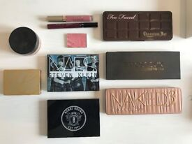 Makeup Palettes over £300 value hardy used