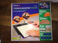 Vitrex tile cutter (warranty)