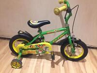 """Raleigh Ollie 12"""" wheel kids bike"""