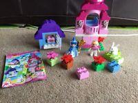 Lego Duplo sleeping beauty and fairy godmother set