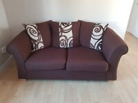 Sofa, sofa bed, oak table and chairs, kitchen items