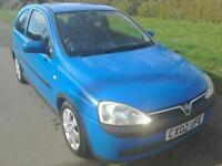 2002 VAUXHALL CORSA C SXI 1.2 IMMACULATE CONDITION FOR YEAR