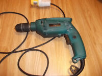 Makita 110 volt drill/hammer drill FOR SPARES OR REPAIR