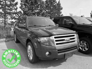2012 Ford Expedition Max Limited 8Pass| Sun| Nav| H/C Leath| Dua