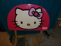 Pink Hello Kitty Head Board for single bed.