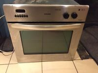 Stoves stainless steel electric oven and grill built in plug in