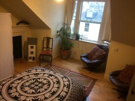 Double Room for single use in our family victorian house Bruntsfield - Tollcross