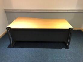 Office Wave Desk 1800MM