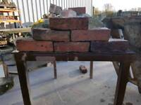 Reclaimed hand made bricks