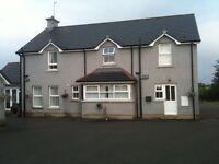 Irish open beautiful rental accommodation