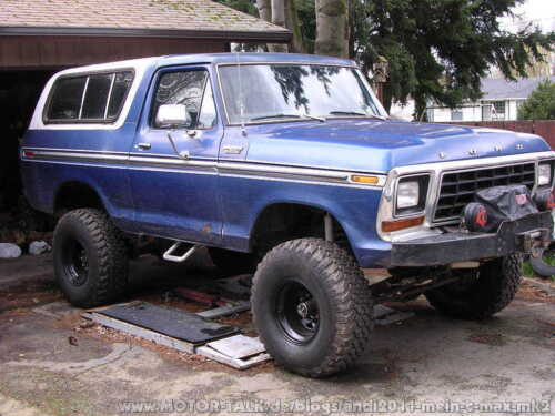 Ford bronco 78