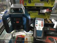 Bosch GRL 400 H professional Rotation self levelling new