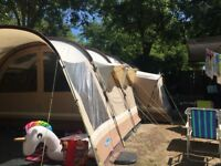 Kampa polzeath 8 man tent