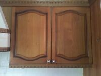 Used Kitchen units and laminate worktops for sale.