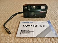 Olympus Trip AF S-2 34mm Auto Focus 35mm Film Camera