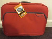 "Samsonite laptop bag Monaco ICT 20"" orange amazing quality £15"