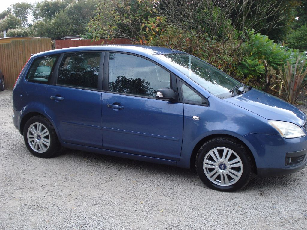 ford focus c max ghia 2005 05 reg 1798cc petrol 127 000 miles new mot in redruth. Black Bedroom Furniture Sets. Home Design Ideas