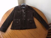 Women's Suede Jacket - Size 14 - Only Worn Once
