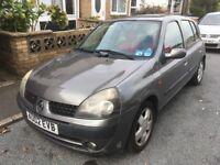 Renault Clio 1.4 16v 2002 spares/repair