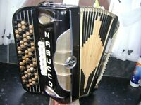 ITALIAN CHROMATIC ACCORDION 120 BASS C SYSTEM