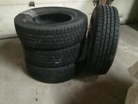 Four nearly new Michelin LTX M/S tires for sale. T225/175R16