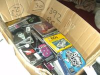 Large box of various CD's and Singles