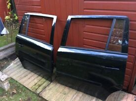 Vauxhall zafira doors & fenders & stereo - black colour 2006-2014
