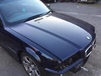Bmw e36 dark blue genuine bmw BONNET coupe convertible cabriolet
