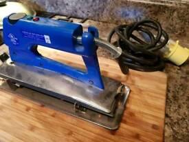 Carpet heat seaming iron 110v