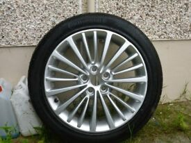 alloy wheel vauxhall astra elite 16 d late 2015 fits all vauxhalls from 2015 upwards 5 stud