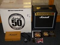 Marshall JCM1C 50th Anniversary JCM800 valve combo made in England,