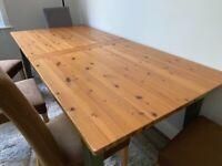 John Lewis large dining table!
