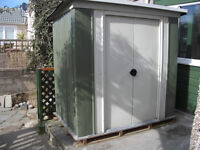 Pent Metal Shed 6'x4' (180x120cm)