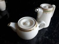 small old tea pot and hot water pot old and in great condition