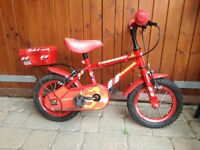 Child's bicycle / children's fireman bike