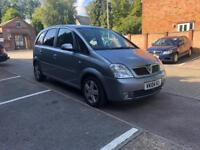 2004 Vauxhall Meriva 1.6 MPV With FSH