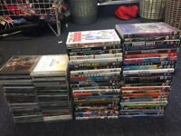 Dvd's & cd's job lot ideal for carboot