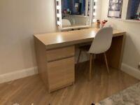 Malm IKEA Desk