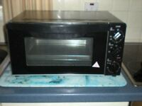 logic table top electric oven and grill