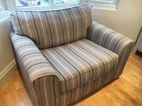Snuggle seat, love seat sofa, Next Colorado range