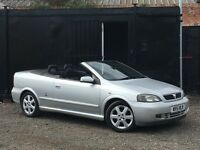 ★ VAUXHALL ASTRA 1.6L CONVERTIBLE + LOW 53K MILES ★